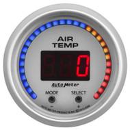 Auto Meter 4358 Ultra-lite Dual Channel Air Temp Gauge 100-300 F