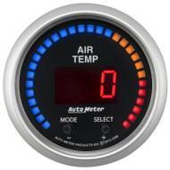 Auto Meter 3358 Sport-comp Dual Channel Air Temp Gauge 100-300 F
