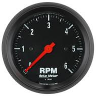 "Auto Meter 2695 Z-series 3-3/8"" In-dash Tachometer 0-6,000 Rpm"