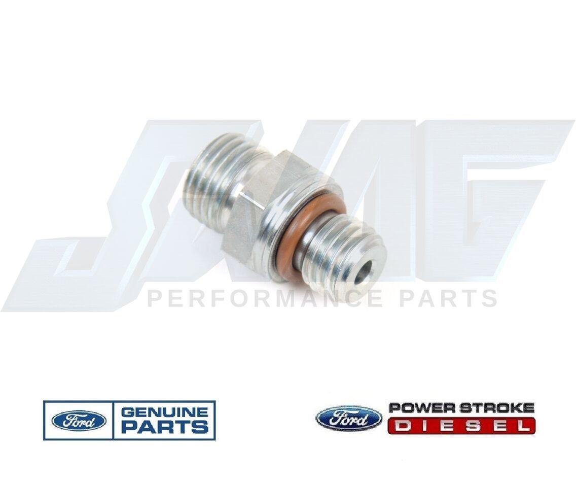 Ford 6 0 6 0l Powerstroke Diesel Oem Fuel Filter Housing M12 Adaptor