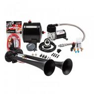 Universal Kleinn HK2-1 Black Pro Blaster Dual Truck Horn Kit