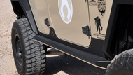 ARTEC Nighthawk JK Sliders (JKU - 4 Door)
