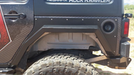 ARTEC Nighthawk JKU Rear Fenders