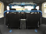 ROCKHARD4X4 Front Seat Harness Bar for Jeep Wrangler JK 2DR 2007 - 2018
