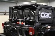 ROCKHARD4X4 Rear Bench Harness Bar for Jeep Wrangler JK 2DR 2007 - 2018