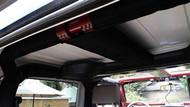 ROCKHARD4X4 Padding Kit for Rear Overhead Center Bars and Straight Across the Rear Bar for Jeep Wrangler JK 2DR 2007 - 2018