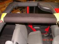 ROCKHARD4X4 Padding Kit for Rear Overhead Center Bars for Jeep Wrangler JK 2DR 2007 - 2018
