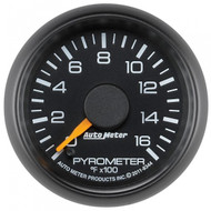 Auto Meter 8344 Factory Matched Pyrometer Gauge 0-1600f (2001-2007 Gm)