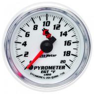 Auto Meter 7145 C2 Series Pyrometer Gauge 0-2,000 F
