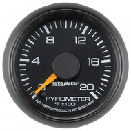 Auto Meter  8345 Factory Matched Pyrometer Gauge 0-2,000f (2001-2007 Gm)
