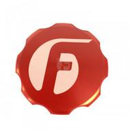 Fleece Performance Billet Oil Cap Cover Red For Cummins