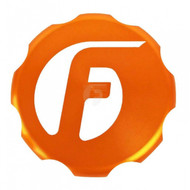 Fleece Performance Billet Oil Cap Cover For Cummins Orange