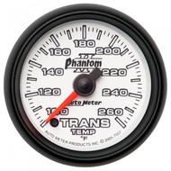 Autometer Phantom Ii Series Transmission Temp. Gauge 100-250 Degrees 7557