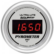 Autometer Ultra-lite Digital Pyrometer Gauge 0-2000 F 6545