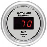 Autometer Ultra-lite Digital Oil Pressure Gauge5-100 Psi 6527