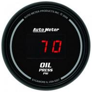 Autometer Sport-comp Digital Oil Pressure Gauge 5-100 Psi 6327