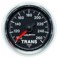 Autometer Gs Series Transmission Temp Gauge 100-260 F 3857