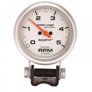 "Autometer Ultra-lite Series Mini Diesel Tachometer 0-5000 Rpm (2-5/8"") 3788"