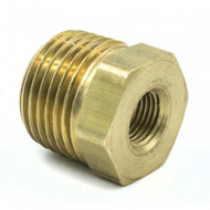 """Autometer 1/2"""" Npt Male, 1/8"""" Npt Female Adapter Fitting Universal 2285"""