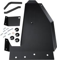 ROCKHARD4X4 Aluminum Oil Pan / Transmission Skid Plate - Short Arm/Factory Suspension for Jeep Wrangler JK 2/4DR 2007 - 2018