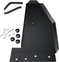 ROCKHARD4X4 Aluminum Oil Pan / Transmission Skid Plate - Long Arm Suspension for Jeep Wrangler JK 2/4DR 2007 - 2018