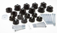 Daystar Body Bushings Steel Sleeves/Hardware For 99-07 Ford F-250 * KF04058BK