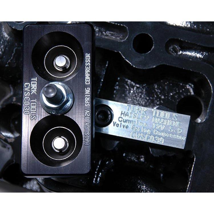 Tork Teknology Valve Spring Compressor For 1989-1998 Dodge 5.9l Cummins CVSC020