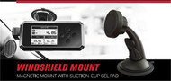 SCT BDX Magnetic Window Mount 90 Degree Elbow Heavy Duty Suction Cup 30490