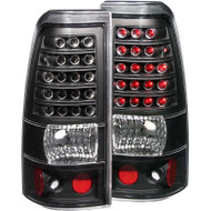 ANZO Black Led Taillights For 2003-2007 Chevy Silverado 2500 311009