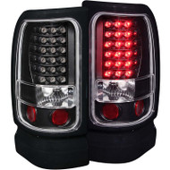 ANZO Black Led Taillights For 1994-2002 Dodge Ram 311073