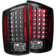 ANZO Black Led Taillights For 2007-2009 Dodge Ram 2500/3500 311123