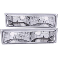 ANZO Clear Parking Lights For 1988-1998 Gm Fullsize 511032