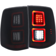 ANZO Smoked Led Tail Lights For 2013-2017 Dodge Ram 311274