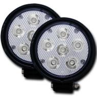 "ANZO Stealth Vision High Power 4.5"" Led Fog Light Kit Universal 881002"