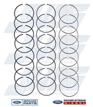6.4L OEM STANDARD PISTON RING KIT - SET OF 8