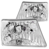 ANZO Crystal Headlights For 1998-2000 Ford Ranger 111037