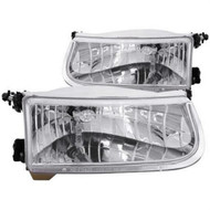 ANZO Crystal Headlights For 1995-2001 Ford Explorer 111038
