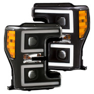 ANZO Projector Headlights For 17-18 Ford F-250 Super Duty 111388