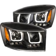 ANZO Projector Headlights For 2006-2008 Dodge Ram 1500 111314
