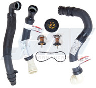 MOTORCRAFT 6.4L OEM RADIATOR HOSE SOLUTIONS KIT
