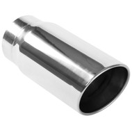 """Magnaflow 6"""" Dual Wall Angle Cut Exhaust Tip 5"""" In X 6"""" Out X 13"""" Long 35233"""