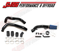 Powerstroke 6.0L Black Powedercoated Intercooler Tube & Cold Air Intake Kit CAI SWF-6C640-6.0BK KIT