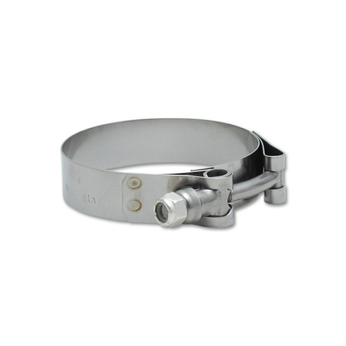"""Vibrant 4/"""" Stainless Steel T-bolt Clamps For 4/"""" Connections * 2798 Pk.2"""
