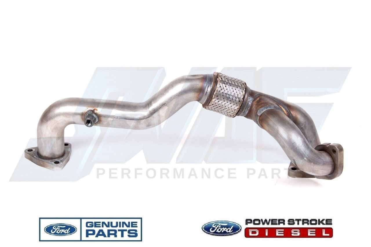 NEW DRIVER SIDE TURBOCHARGER UP PIPE FOR 08-10 FORD 6.4L POWERSTROKE DIESEL