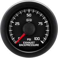 ISSPRO EV2 Exhaust Backpressure Gauge 0-100 PSI R18155