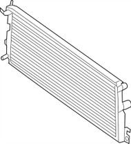 Auxiliary Radiator For 17-19 Ford F250 Super Duty 6.7L