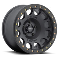METHOD RACE WHEELS 105 Beadlock | Matte Black | 17X9 | 5X5.0 | -38MM/3.5""