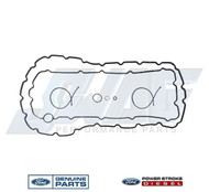 6.4L OEM ENGINE OIL PAN GASKET SET