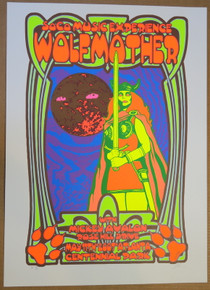 WOLFMOTHER - 2007 - ROSE HILL DRIVE - ATLANTA - SOCO - POSTER - LINDSEY KUHN