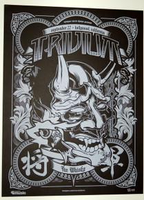 TRIVIUM - THE WHISKY - ASCENDANCE - SEPTEMBER 2008 - MYSPACE SECRET SHOW POSTER
